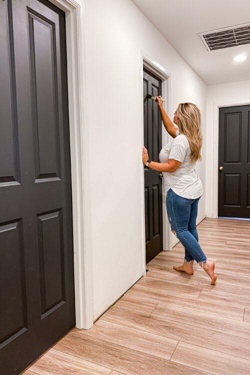 How To: Paint Interior Doors
